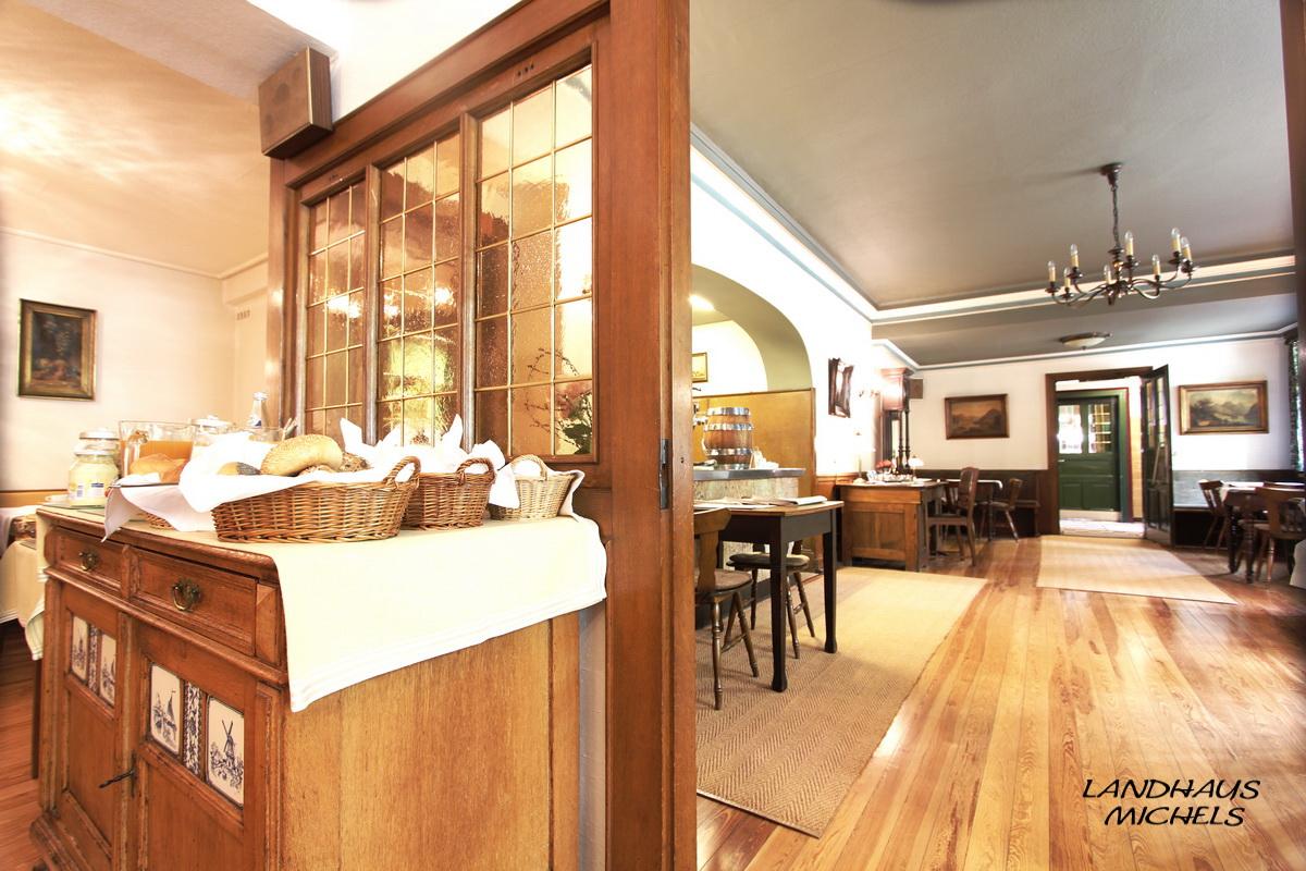 Blick aus Frühstücksraum